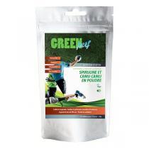 Gourmet Spiruline - Green Perf - Spiruline et Camu bio en Poudre - 500 g