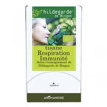 Hildegarde de Bingen - Tisane Respiration Immunité - 18 x 1,5 g