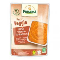 Priméal - Purée de polenta et potimarron bio - 250 g