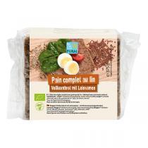 Pural - Pain complet aux graines de lin 375g