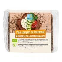 Pural - Pain complet aux graines de tournesol 375g