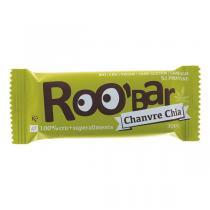 Roo'bar - Barre crue Chanvre & Chia bio et vegan - 30 g