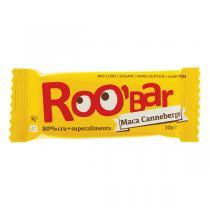 Roo'bar - Barre crue Maca & Canneberge bio et vegan - 30 g