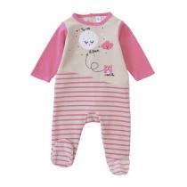Tex Baby - Pyjama trio rose - 9 à 24 mois