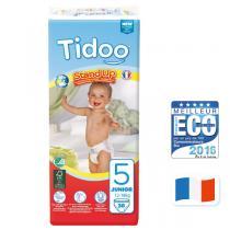 Tidoo - Lot de 6 x 36 Culottes Ecologiques T5-L - 12-18kg
