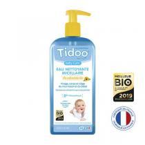 Tidoo - Lot de 2 Eaux Nettoyantes Micellaires Bio au Calendula 500 ml