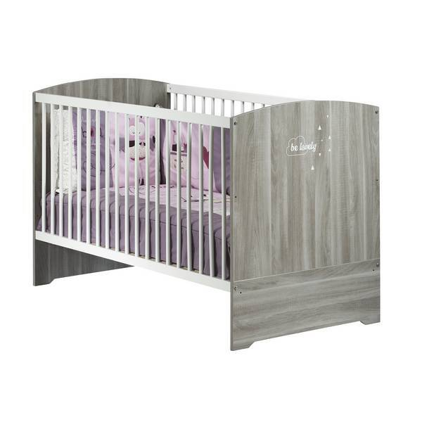 Baby Price - Little Big Bed Smile 140x70cm - Chêne Silex