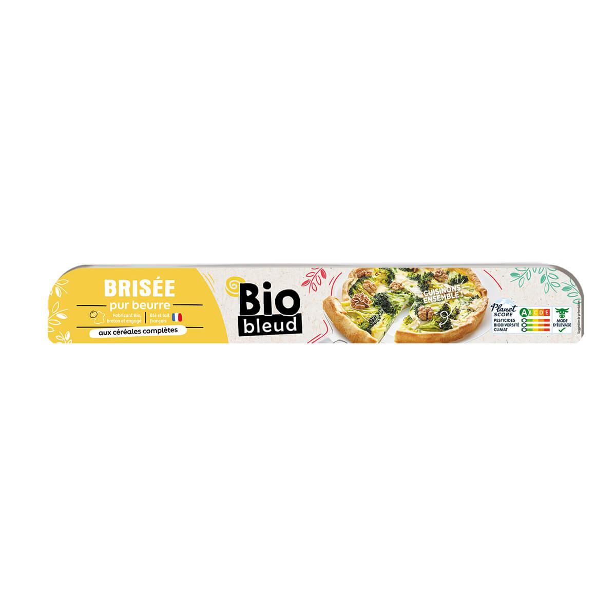Biobleud - Pâte brisée pur beurre multicéréales 250g