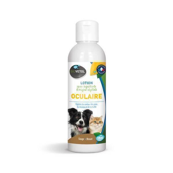 Biovetol - Lotion soin des yeux chien et chat 125ml
