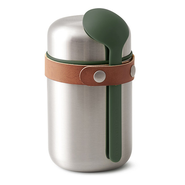 Black & Blum - Boîte repas isotherme Food Flask Olive 40cl