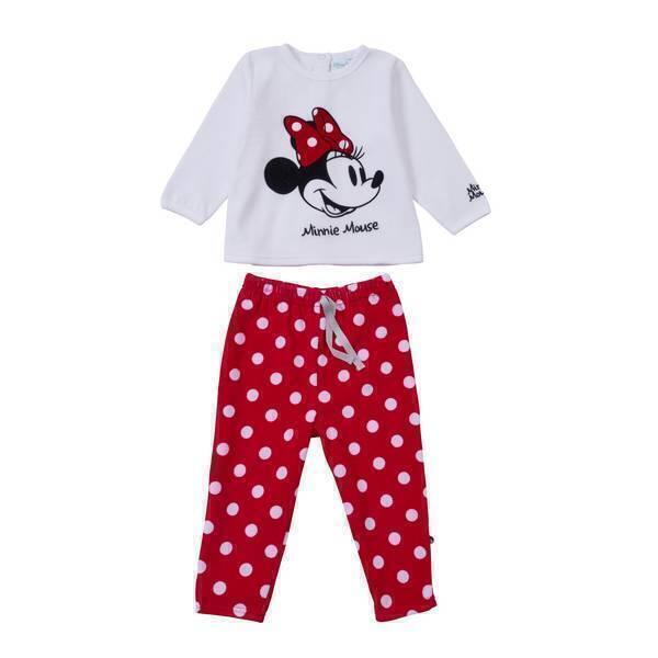 Disney Baby - Pyjama 2 pièces Minnie - Rouge - 6 à 36 mois. Loading zoom a71126e133d