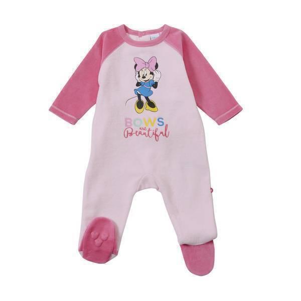 d55e045e4de01 Disney Baby - Pyjama bicolore Minnie - 9 à 24 mois