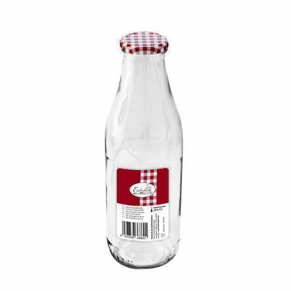 Einkochwelt - Bouteille en verre avec couvercle à visser 50cl