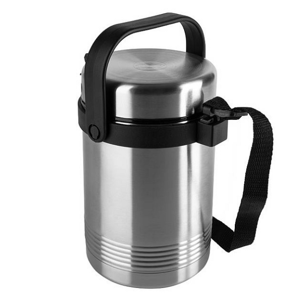 Emsa - Boîte repas isotherme Senator Thermo Lunch inox 1,4L