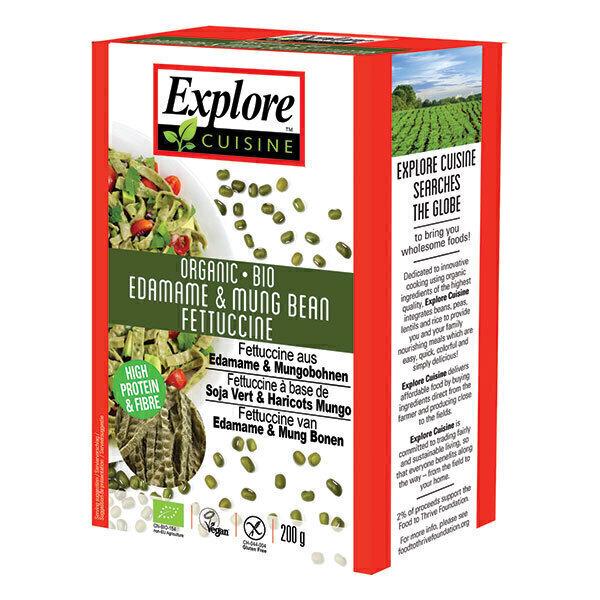Explore Cuisine - Fettucine soja vert et haricots mungo 200g