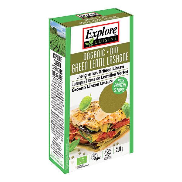 Explore Cuisine - Lasagnes de lentilles vertes 250g