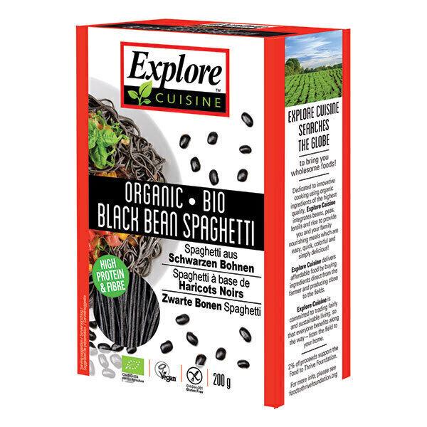 Explore Cuisine - Spaghettis de haricots noirs 200g
