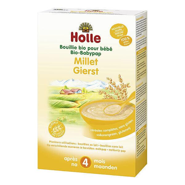 Holle - Bouillie de millet pour bébé 250g - Dès 4 mois