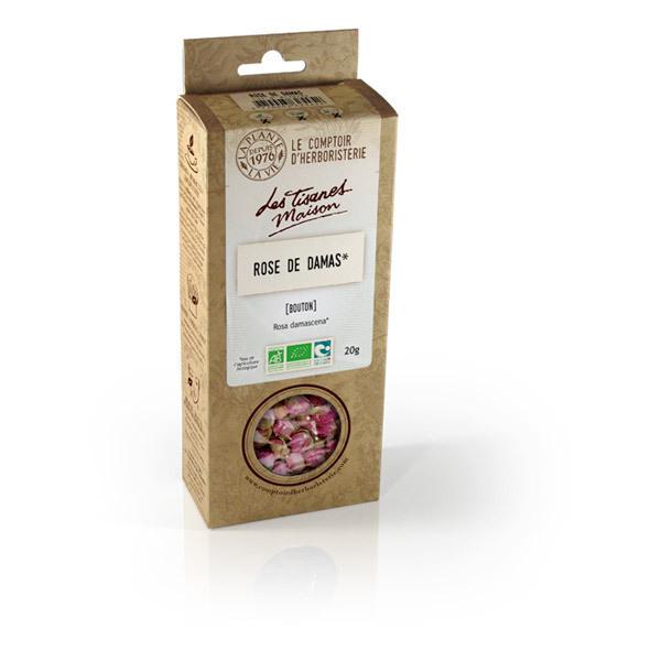 Tisane rose de damas bio bouton 20g le comptoir d 39 herboristerie acheter sur - Comptoir de l herboristerie ...