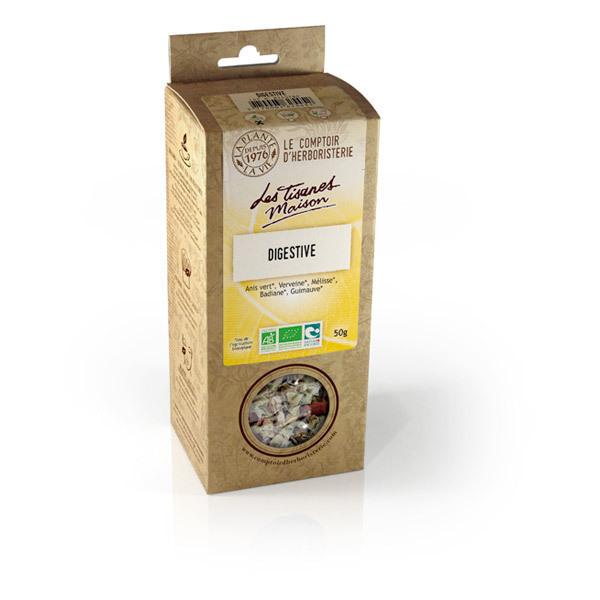 Tisane digestive bio 50g le comptoir d 39 herboristerie acheter sur - Le comptoir d herboristerie ...