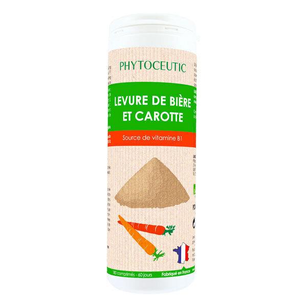 Phytoceutic - Levure de bière et carotte 180 comprimés