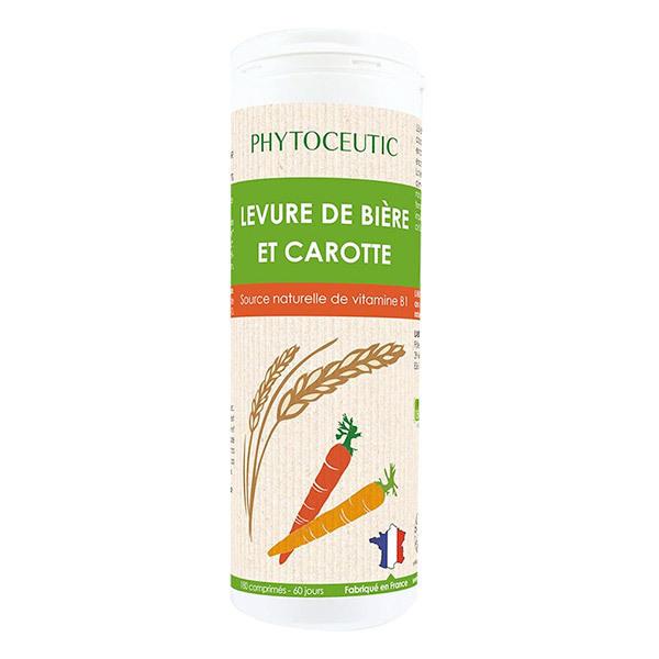 Phytoceutic - Levure de Bière et Carotte x 180 Comprimés