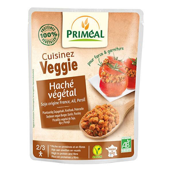 Priméal - Haché végétal soja, ail, persil 250g