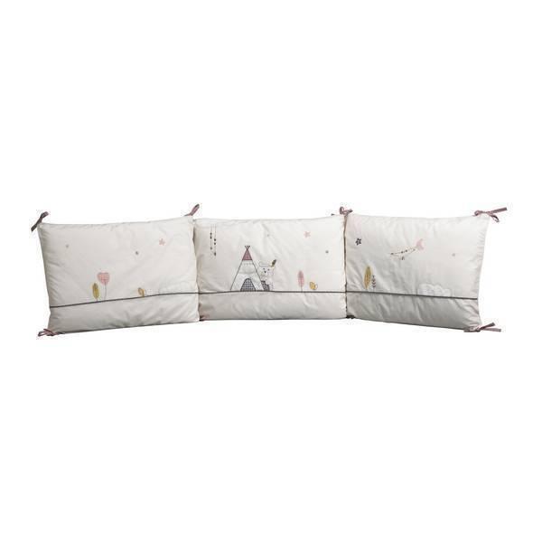 tour de lit timouki sauthon la r f rence bien tre bio b b. Black Bedroom Furniture Sets. Home Design Ideas