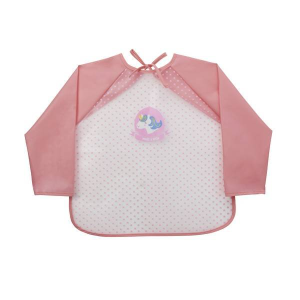 Tex Baby - Bavoir tablier - Rose Licorne
