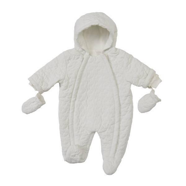 Tex Baby - Combipilote nouveau-né Blanche - 1/3 à 6/9 mois