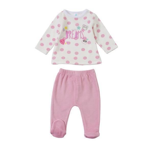 d5e30e80d19d7 Pyjama 2 pièces - Rose - 6 à 36 mois